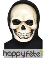 Masque de squelette effrayant
