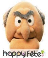 Masque de Statler du muppet show