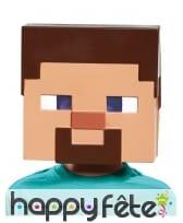 Masque de Steve pour enfant, Minecraft