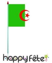 Mini drapeau sur hampe de 9.5 x 16 cm, image 1