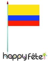 Mini drapeau sur hampe de 9.5 x 16 cm, image 14