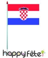 Mini drapeau sur hampe de 9.5 x 16 cm, image 17