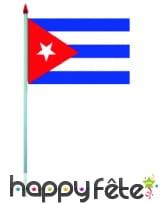 Mini drapeau sur hampe de 9.5 x 16 cm, image 18