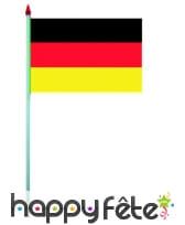 Mini drapeau sur hampe de 9.5 x 16 cm, image 2