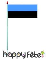 Mini drapeau sur hampe de 9.5 x 16 cm, image 23