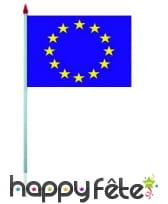 Mini drapeau sur hampe de 9.5 x 16 cm, image 24