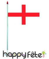 Mini drapeau sur hampe de 9.5 x 16 cm, image 3