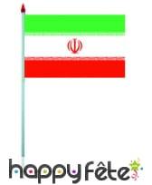 Mini drapeau sur hampe de 9.5 x 16 cm, image 32