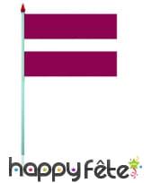 Mini drapeau sur hampe de 9.5 x 16 cm, image 37