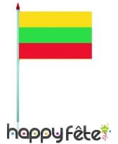 Mini drapeau sur hampe de 9.5 x 16 cm, image 38