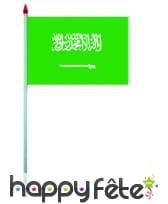 Mini drapeau sur hampe de 9.5 x 16 cm, image 4