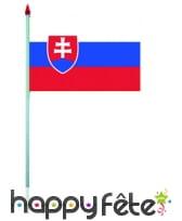 Mini drapeau sur hampe de 9.5 x 16 cm, image 53