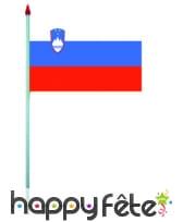 Mini drapeau sur hampe de 9.5 x 16 cm, image 54