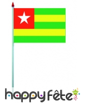 Mini drapeau sur hampe de 9.5 x 16 cm, image 58