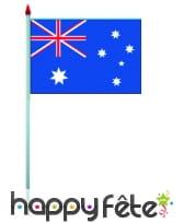 Mini drapeau sur hampe de 9.5 x 16 cm, image 6