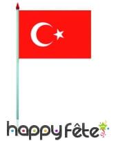 Mini drapeau sur hampe de 9.5 x 16 cm, image 60