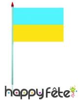 Mini drapeau sur hampe de 9.5 x 16 cm, image 61