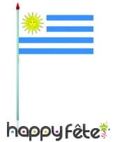 Mini drapeau sur hampe de 9.5 x 16 cm, image 62