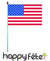 Mini drapeau sur hampe de 9.5 x 16 cm, image 63