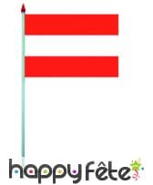 Mini drapeau sur hampe de 9.5 x 16 cm, image 7