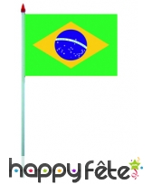 Mini drapeau sur hampe de 9.5 x 16 cm, image 9
