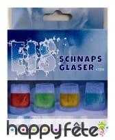Moule de silicone de 4 shotters gelés, image 1