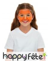 Maquillage de tigre queue et oreilles pour enfant, image 2