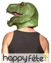 Masque de T-rex intégral pour adulte, image 1
