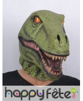Masque de T-rex intégral pour adulte, image 2