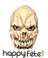 Masque de tête de mort à longues dents