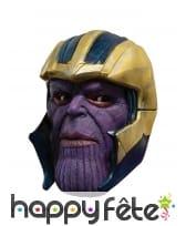 Masque de Thanos pour adulte, intégral