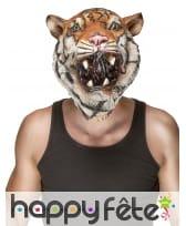 Masque de tigre intégral