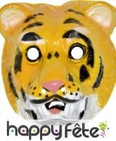 Masque de tigre pour enfant