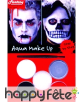 Maquillage de vampire ou zombie aquaexpress