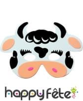Masque de vache pour enfant, en mousse