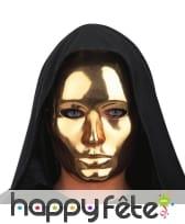 Masque de visage chromé, image 2