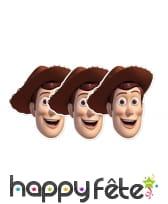 Masque de Woody en carton, image 1