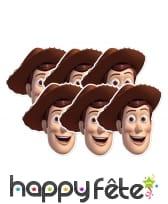 Masque de Woody en carton, image 2