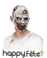 Masque de zombie en mousse de latex
