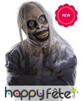 Masque de zombie fou en latex