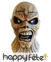 Masque de zombie Piece of mind, Iron Maiden