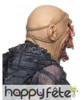 Masque de zombie visage arraché, image 1