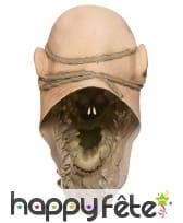 Masque de zombie visage arraché, image 3