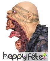 Masque de zombie visage arraché, image 4