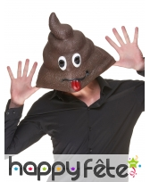 Masque émoticone Caca, image 1