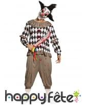 Machette ensanglantée de clown tueur, image 1