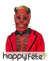 Masque enfant de diable du jour des morts