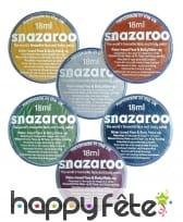 Maquillage effet métallique Snazaroo, 18 ml