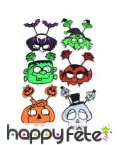 Masque et serre-tête halloween rigolo pour adulte