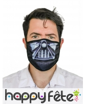 Masque en tissus empreur noir